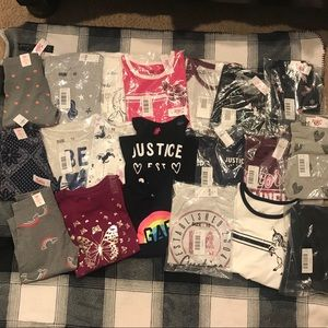 NWT HUGE Fall Wardrobe Bundle Sz 10 Justice & Gap